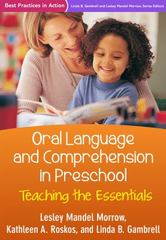 Oral Language and Comprehension in Preschool 1st Edition 9781462524037 1462524036