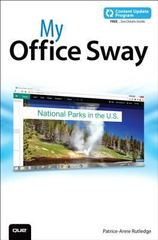 My Office Sway (includes Content Update Program) 1st Edition 9780134217253 013421725X