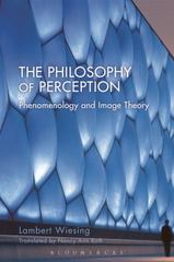 The Philosophy of Perception 1st Edition 9781474275323 147427532X