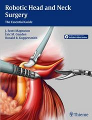 Robotic Head and Neck Surgery 1st Edition 9781604069198 1604069198