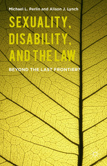 Sexuality, Disability, and the Law 1st Edition 9781137481078 1137481072