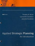 Applied Strategic Planning 2nd Edition 9780787988524 0787988529