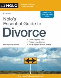 Nolo's Essential Guide to Divorce 6th Edition 9781413322675 1413322670