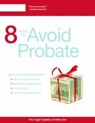8 Ways to Avoid Probate 11th Edition 9781413322774 1413322778