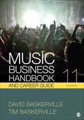 Music Business Handbook and Career Guide 11th Edition 9781506309538 1506309534