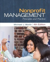 Nonprofit Management 4th Edition 9781483375991 1483375994