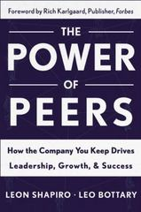 Power of Peers 1st Edition 9781629561202 1629561207