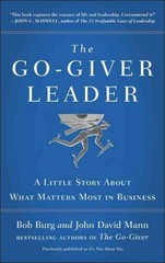 The Go-Giver Leader 1st Edition 9780399562945 039956294X