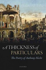 A Thickness of Particulars 1st Edition 9780191071348 019107134X