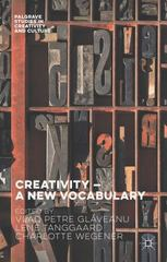 Creativity – A New Vocabulary 1st Edition 9781137511799 1137511796