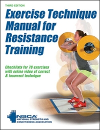 Exercise Technique Manual for Resistance Training with Online Video 3rd Edition 9781492506928 1492506923