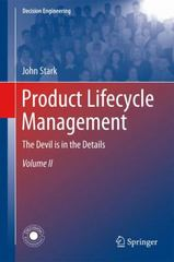 Product Lifecycle Management (Volume 2) 3rd Edition 9783319244365 3319244361