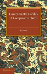 Governmental Liability 1st Edition 9781107594715 1107594715