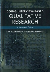 Doing Interview-Based Qualitative Research 1st Edition 9781107062337 1107062330