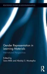 Gender Representation in Learning Materials 1st Edition 9781317653257 1317653254