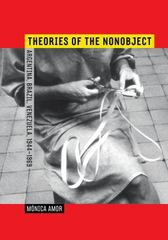 Theories of the Nonobject 1st Edition 9780520286627 0520286626