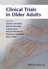 Clinical Trials in Older Adults 1st Edition 9781118323496 1118323491