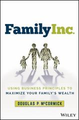 Family Inc. 1st Edition 9781119219736 1119219736