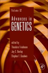 Advances in Genetics 1st Edition 9780128040140 0128040149