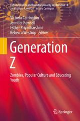 Generation Z 1st Edition 9789812879325 9812879323