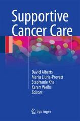 Supportive Cancer Care 1st Edition 9783319248141 3319248146