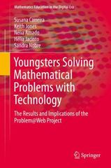 Youngsters Solving Mathematical Problems with Technology 1st Edition 9783319249100 331924910X