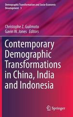 Contemporary Demographic Transformations in China, India and Indonesia 1st Edition 9783319247816 3319247816
