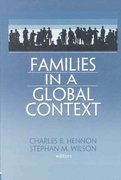 Families in a Global Context 1st Edition 9780789027085 0789027089