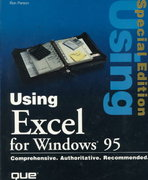 Using Excel for Windows 95 0 9780789701121 078970112X