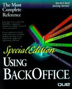 Special Edition Using Microsoft BackOffice 2nd edition 9780789706881 0789706881