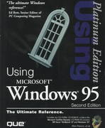 Using Windows 95 2nd edition 9780789713834 0789713837