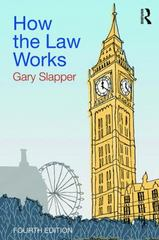 How the Law Works 4th Edition 9781317218029 1317218027