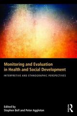 Monitoring and Evaluation in Health and Social Development 1st Edition 9781138844186 1138844187
