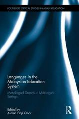 Languages in the Malaysian Education System 1st Edition 9781138948754 1138948756