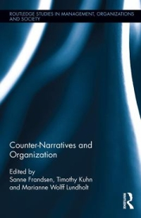 Counter-Narratives and Organization 1st Edition 9781317399490 1317399498