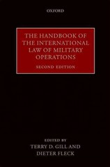 The Handbook of the International Law of Military Operations 2nd Edition 9780191062070 0191062073