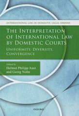 The Interpretation of International Law by Domestic Courts 1st Edition 9780191059414 0191059412