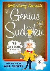 Will Shortz Presents Genius Sudoku 1st Edition 9781250093752 1250093759