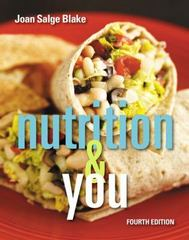 Nutrition & You 4th Edition 9780134167541 0134167546