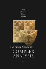 A First Course in Complex Analysis 2nd Edition 9780989897587 0989897583