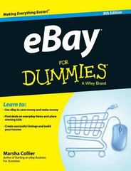 Ebay for Dummies 8th Edition 9781119174387 1119174384