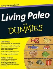 Living Paleo for Dummies 1st Edition 9781119175629 1119175623