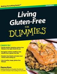 Living Gluten-Free for Dummies 2nd Edition 9781119175643 111917564X