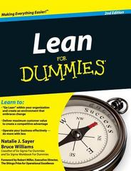 Lean for Dummies 2nd Edition 9781119175650 1119175658