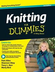 Knitting for Dummies 3rd Edition 9781119175674 1119175674