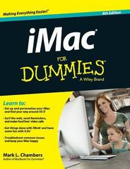 IMac for Dummies 8th Edition 9781119175711 1119175712