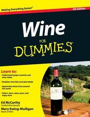 Wine for Dummies 5th Edition 9781119175919 1119175917