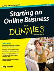 Starting an Online Business for Dummies 7th Edition 9781119176046 1119176042