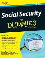 Social Security for Dummies 2nd Edition 9781119176053 1119176050