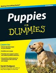 Puppies for Dummies 3rd Edition 9781119176152 1119176158